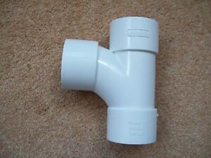 90 Degree Elbow Pipe Joint - EN-1566 - 40 mm - New