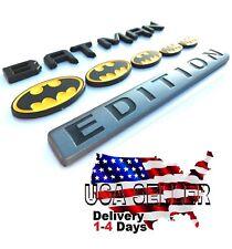 Batman Family Edition Emblem Tailgate Truck Trunk Logo Car Decal Suv Fenders