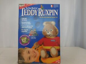 Teddy Ruxpin Animated Talking Toy Airship Book & Tape New 1998 SEALED box