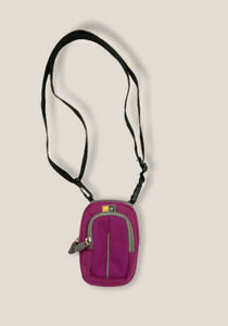 Case logic women's Compact Camera magenta small bag with strap