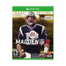 Madden NFL 18: G.O.A.T. Edition (Microsoft Xbox One, 2017) Goat