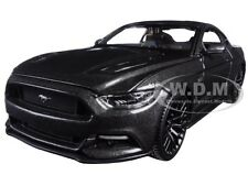 2015 FORD MUSTANG GT 5.0 GREY 1/24 DIECAST CAR MODEL BY MAISTO 31508