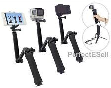 3-Way Extendable Waterproof Monopod/Selfie Stick/Tripod for GoPro Camera iPhone
