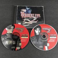 Resident Evil 2 Platinum PC 1999 Windows Computer Game Complete 2 Discs Capcom