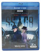 SSGB Blu-ray + DVD (Sam Riley, Kate Bosworth) 3-Disc BBC Nazi Spy Thriller - NEW
