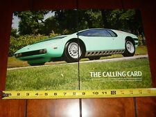 1968 Manta Bizzarrani Giugiaro 327 Corvette Powered - Original 2008 Article