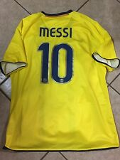 Spain Fc Barcelona Player Issue  Messi Jersey  Argentina Rare Football Shirt