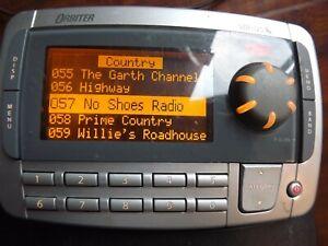 SIRIUS Orbiter SR4000 XM radio receiver ONLY ACTIVE LIFETIME SUBSCRIPTION