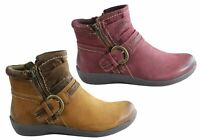 NEW PLANET SHOES CHELSEA2 WOMENS COMFORTABLE LEATHER ANKLE BOOTS