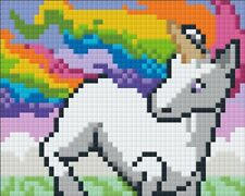 Pixelhobby UK Rainbow Unicorn Kit with frame, as seen on TV