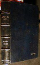 1977 JAMES JOYCE STEPHEN HERO DARK BLUE LEATHER BINDING TRIAD PANTHER EDITION
