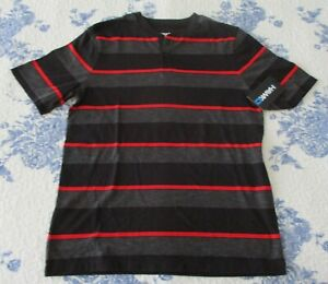 TONY HAWK BOYS STRIPED BLACK & RED POLO SHIRT, SIZE YOUTH XL. NWT. (6348)