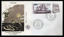 TAAF 1984 FDC SG195 NORDPOSTA STAMP EXHIBITION - WITH EXHIBITION TAB