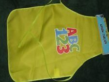 NEW CHILD'S CRAFT APRON - green..little boy....