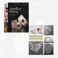 Jewellery Making and Silversmithing for Jewelry Makers 2 Books Collection Set