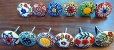 36 Multicolor Design Ceramic Cupboard Cabinet Door Knobs Drawer puller knob pull