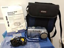 Sony Cyber-Shot Digital Camera Dsc-P30, Manual, Case, 2 Memory Sticks, Cable
