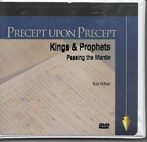 Precept Upon Precept: Kings & Prophets - Passing the Mantle DVD SET Kay Arthur