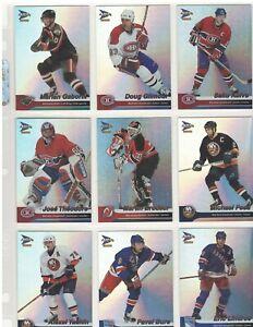 2002-03 McDonalds Prism Platinum Hockey Card Complete Set  - 66 Cards in total