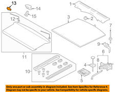 LAND ROVER OEM 2012 Range Rover Evoque Interior-Rear-Cargo Cover Pivot LR025401