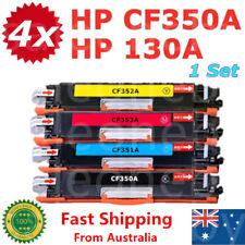 4x HP 130A Toner CF350A CF351A CF352A CF353A for M177fw M176n M153 M176 M177 MFP