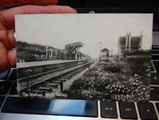 More details for white notley, essex... cm8 1rh  railway station  edwardian postcard