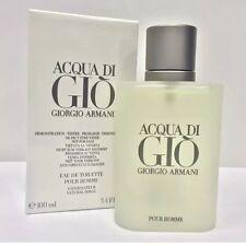 ACQUA DI GIO 3.4oz by GIORGIO ARMANI EDT POUR HOMME 100ml TES