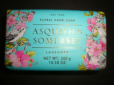 Asquith & Somerset Made in Portugal 10.58oz 300g Luxury Bath Bar Soap Lavender