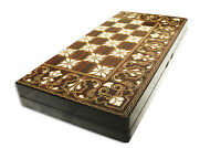 BACKGAMMON GAME SET 15 INCH BEAUTIFUL BOARD