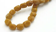 Red Aventurine Faceted Nugget Beads 8MM