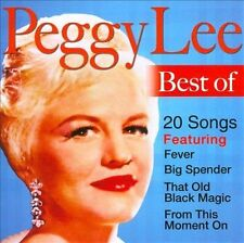 Best of Peggy Lee by Peggy Lee CD Oct-2011 TGG Direct  New Factory Sealed