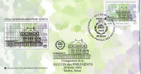 UNITED NATIONS 2003 INTER PARLIAMENTARY UNION FIRST DAY COVER BETTER CACHET