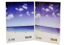 CORNICE DOPPIA  IN PLEXIGLASS 13x18 PORTAFOTO ESPOSITORE IN ACRILICO PORTA FOTO