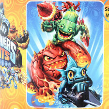 "Sky Landers Plush Microfiber Blanket  Twin  RaschelThrow ""LITTLE GIANT """