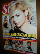 Sì.EMMA MARRONE,LAURA BARRIALES, VITTORIO BELVEDERE,RONN MOSS, LORENZO FLAHERTY