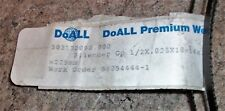 "DOALL PREMIUM METAL BAND SAW BLADE 7'-6"" x 1/2"" 10-14 TPI TEETH PER INCH 0.025"""