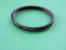 52mm to 50mm Stepping Step Down Male-Female Lens Filter Ring Adapter 52mm-50mm