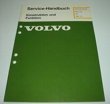 Werkstatthandbuch Volvo 340 Motor D16 / D 16 Stand Februar 1985!