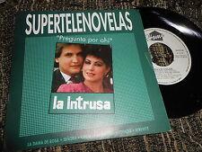 "LA INTRUSA tv BSO OST WILLIE COLON Pregunta por ahi 7"" 1990 SPAIN PROMO"