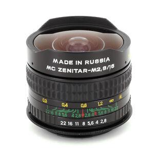 Zenitar MC F/2.8 Fisheye SLR Lens for Canon 30D,40D,50D,60D,60Da, 350D Rebel XT