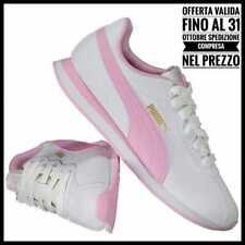 Puma Scarpe Turin II Rosa Bianco Ginnastica Basse Donna Sneakers corsa 37 38