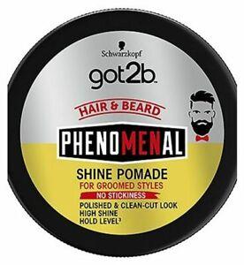 Schwarzkopf got2b Hair & Beard Phenomenal Shine Pomade 100ml