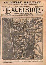 Poilus Tranchée Casque Adrian Bourguignotte Pipe Bataille de Verdun  WWI 1916