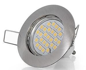 230V Einbaustrahler LED Einbauleuchten Set GU10 5Watt Innen & Aussen Lampe Spot