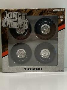 Monster Truck 48 inch Tyre Wheels and Axle Set 1:18 Scale Greenlight 13546