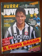 Hurrà Juventus n°7-8 1990 Roberto Baggio + Inserto Signora del secolo [C80]