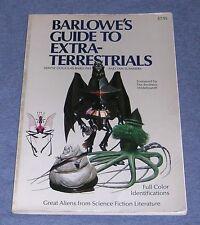 VINTAGE 1979 ~ BARLOWE'S GUIDE TO EXTRA TERRESTRIALS ~ 1ST PRINT MONSTERS ALIENS