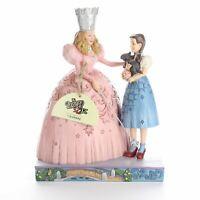Jim Shore The Wizard of Oz Glinda & Dorothy Ruby Slippers Resin Figurine