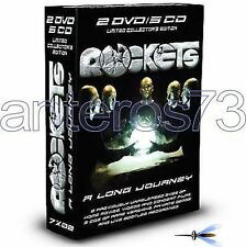 "ROCKETS ""A LONG JOURNEY"" RARE BOX 2 DVD + 5 CD LIMITED - NEW"