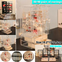336 Booths Large Earrings Jewelry Storage Box Display Stand Drawers Rack Holder